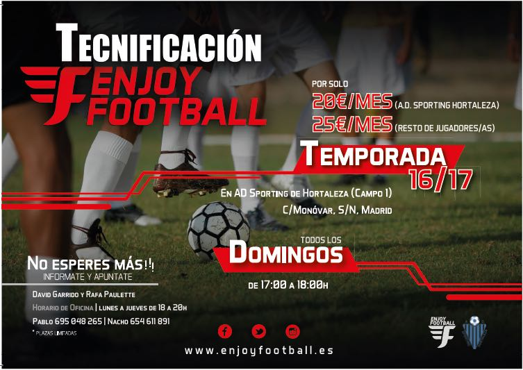 ENJOY FOOTBALL ESTE DOMINGO