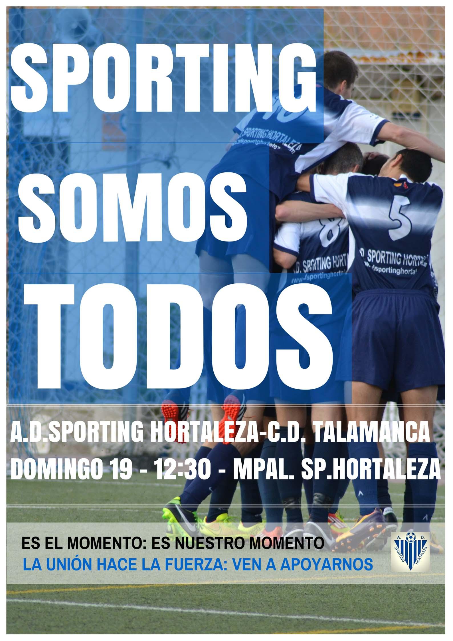 HOY MAS QUE NUNCA… TODOS SOMOS SPORTING!!